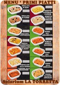 Poster Menu Primi Piatti - Fc Food Service
