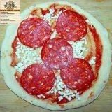 Pizza con Salame Piccante - Fc Food Service